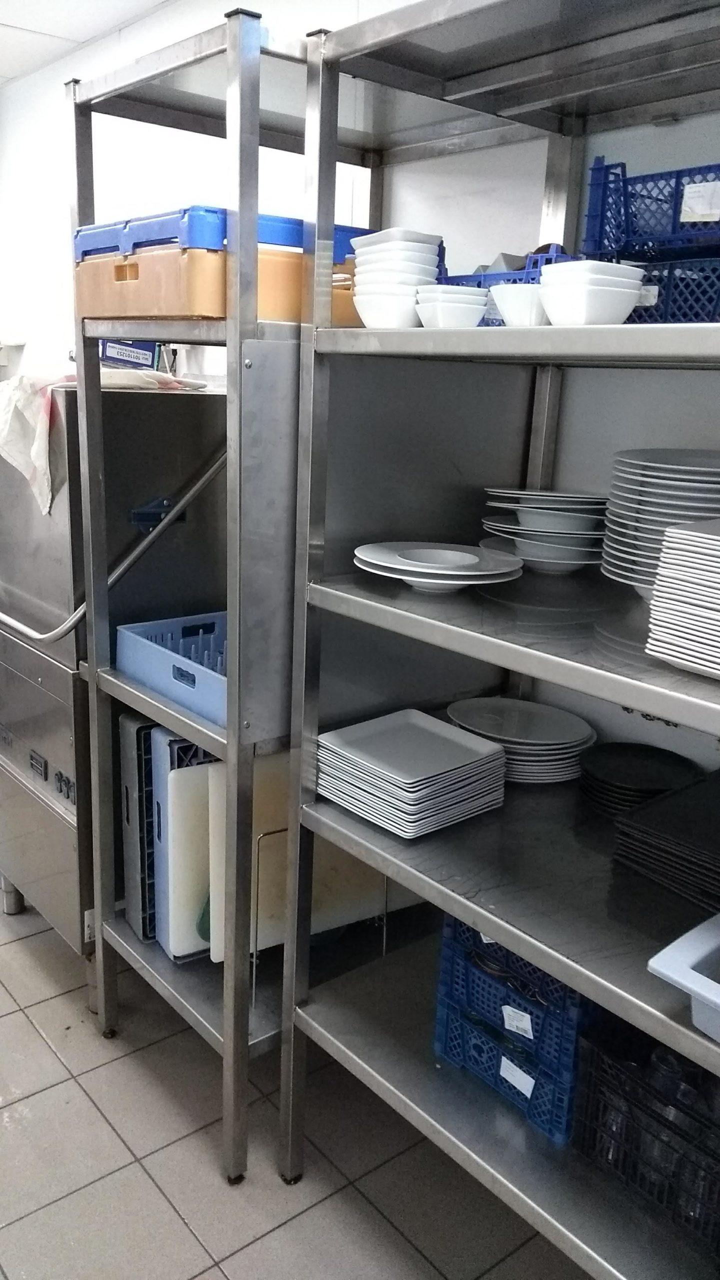 Mobilier inox cuisine professionnelle